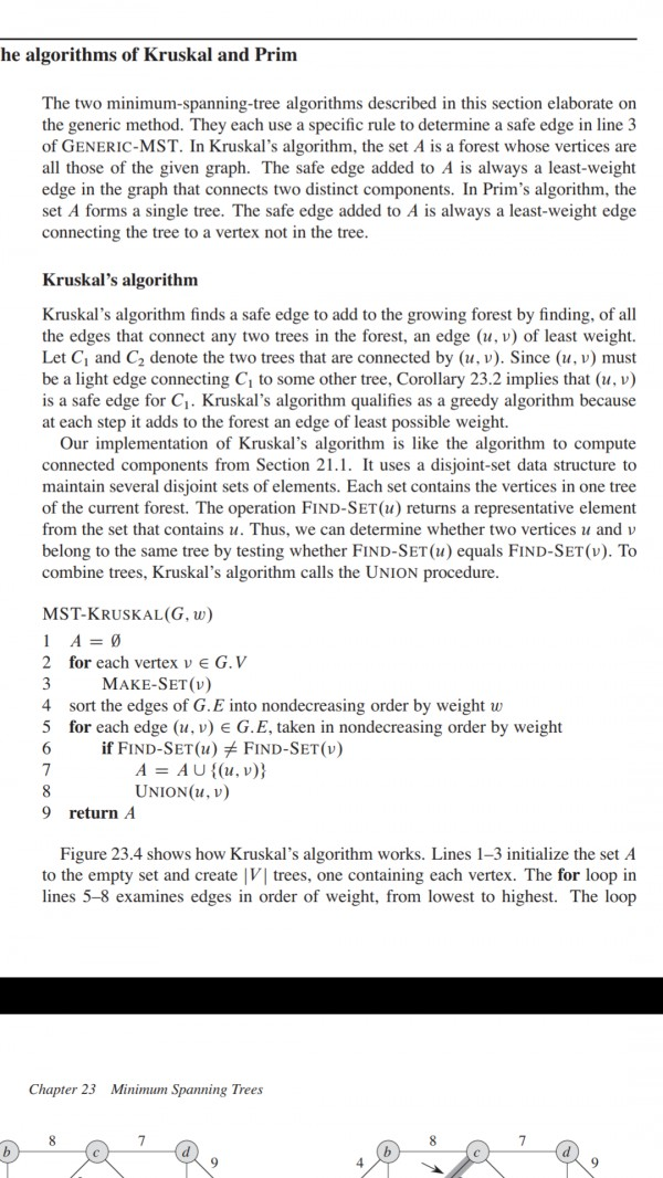 What is the time complexity of Make-set function in kruskal