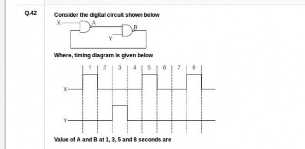 Amazing What Is The O P According To Given Timing Diagram Gate Overflow Wiring Digital Resources Indicompassionincorg