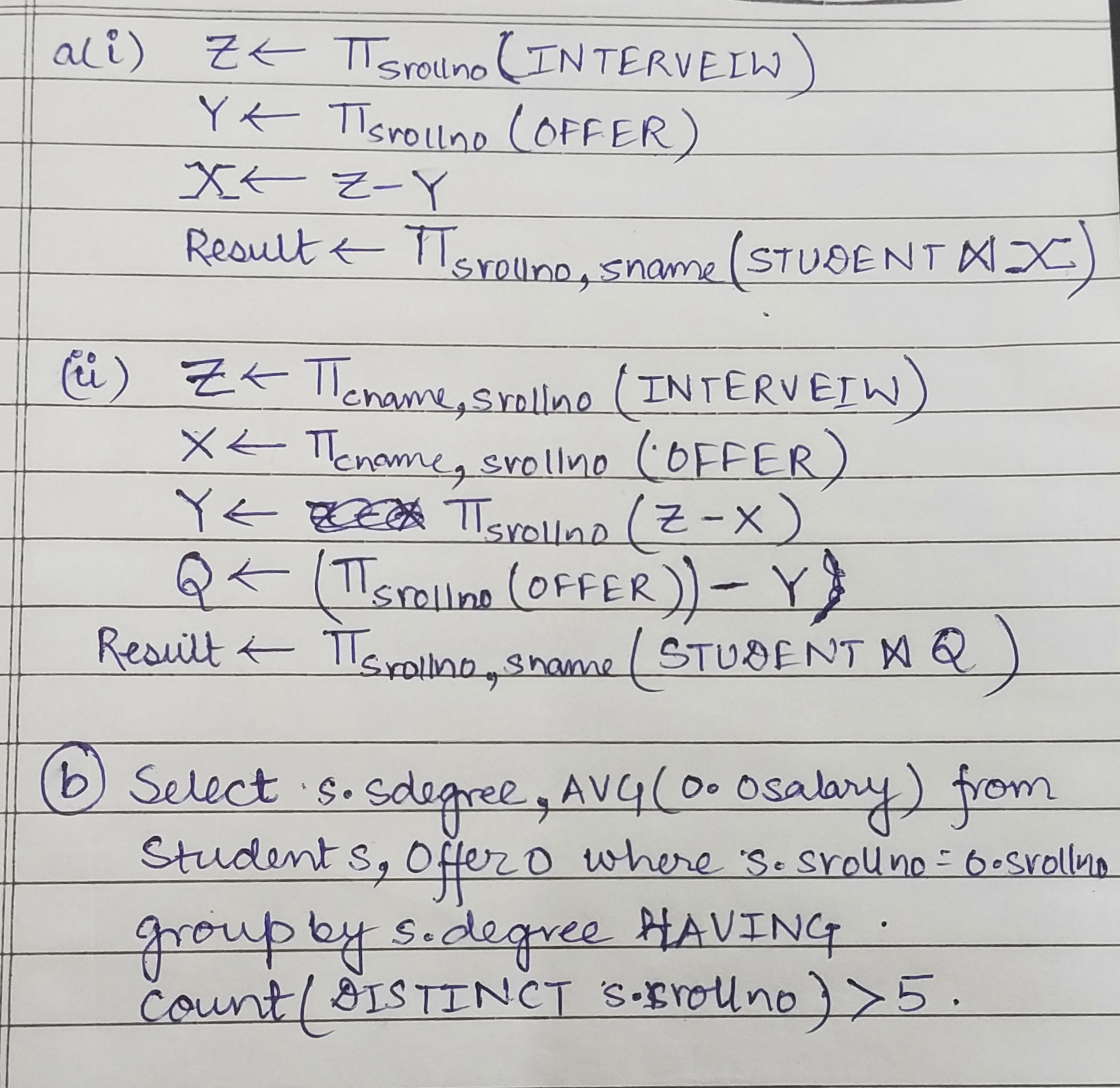 Answered: GATE CSE 2002 | Question: 15
