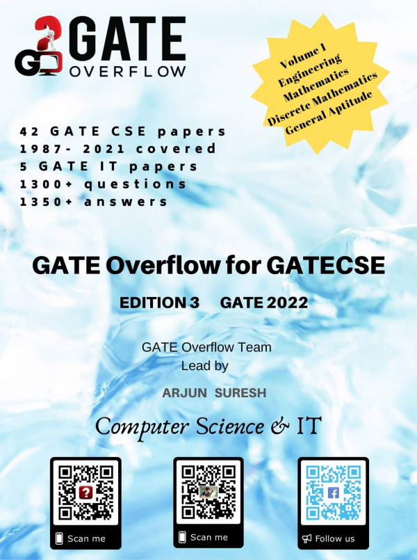 GATE Overflow Book for GATE CSE 2022